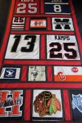 hockey quilt full