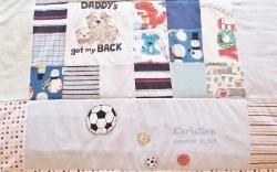 baby quilt embroidery