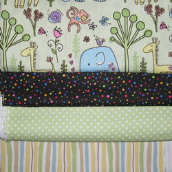 fabric combo elephant 4 fabs 250