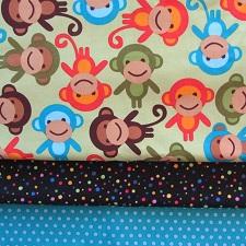 fabric combo new monkey 225
