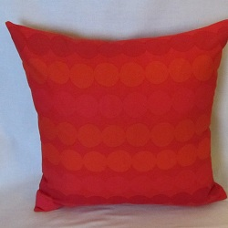 pillow rasymatto red