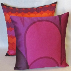 pillow 2 purple