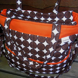 new bag snow dot orange 250