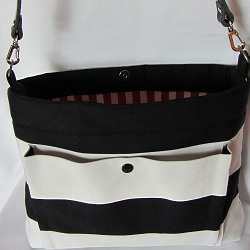 purse b and w leather strap up 250
