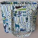 Custom patchwork personalized tote