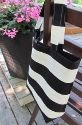 Canvas tote-canvas tote,canvas totes,pool tote,pool totes,beach tote,beach totes,laptop tote,stripes,striped,black and white,tote,totes,bag,bags,Marimekko style,handmade,custom,toronto,Ontario,Canada