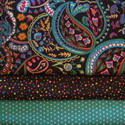Fabric combos-designer,fabric,fabrics,cotton,prints,combo