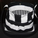 Custom diaper bag messenger, hobo style
