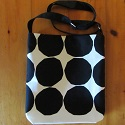 Marimekko canvas cross body bag