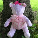 Custom keepsake Memory Quilts and Memory Bears